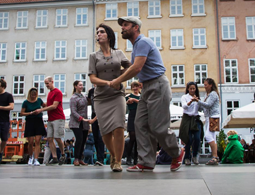 Swing dance at Kultorvet, Copenhagen Jazz Festival 2018